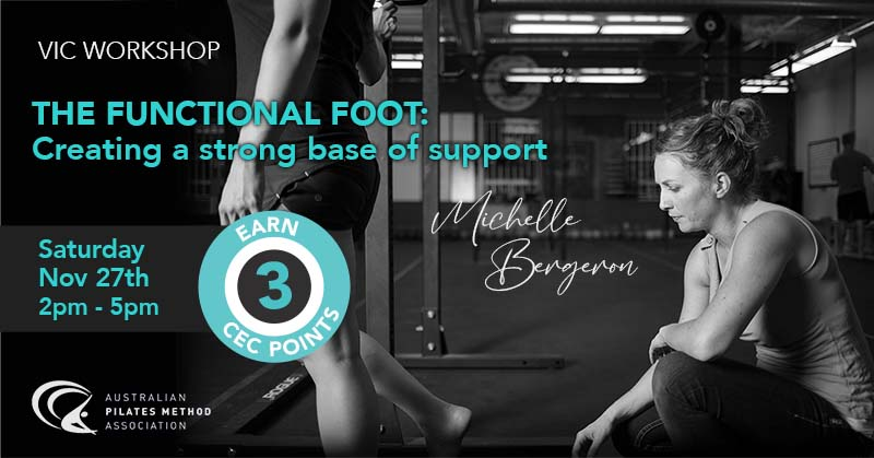 VIC - The Functional Foot: Creating a strong base of support - Sat 27 November 2021