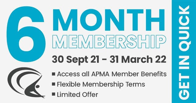 It's never too late to renew with the APMA