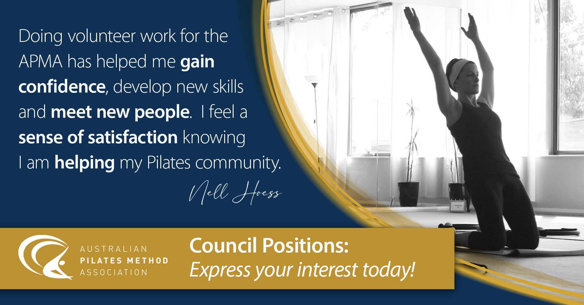 Council Position - Express your interest today!